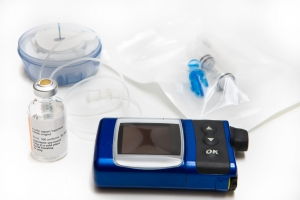 Insulin, Pump, Infusion Set and Reservoir